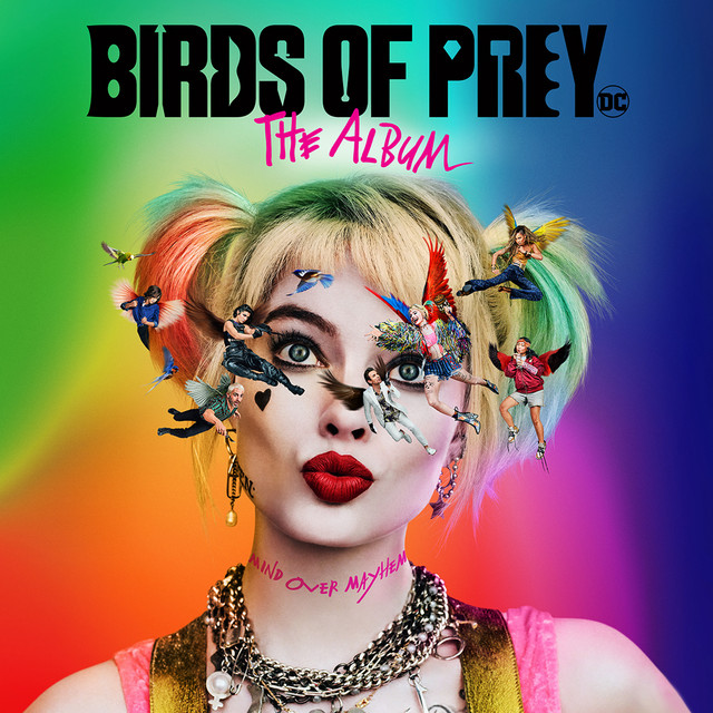 The album cover for Birds of Prey: The Album by Various Artists
