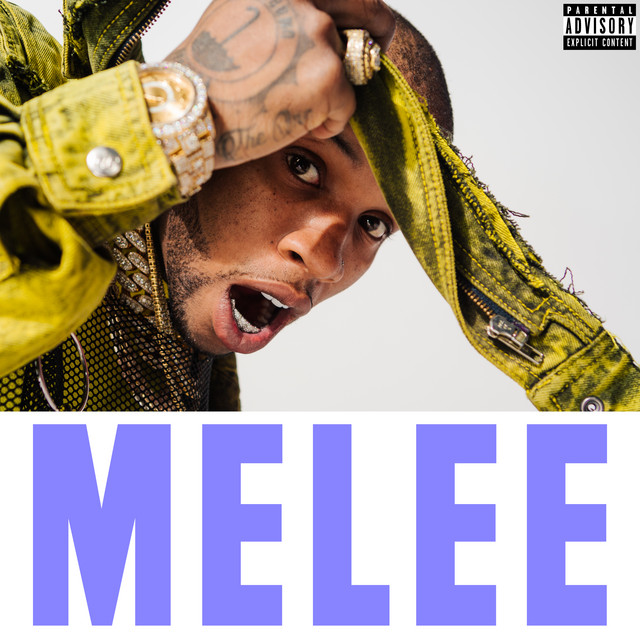 The album cover for Melee by Tory Lanez