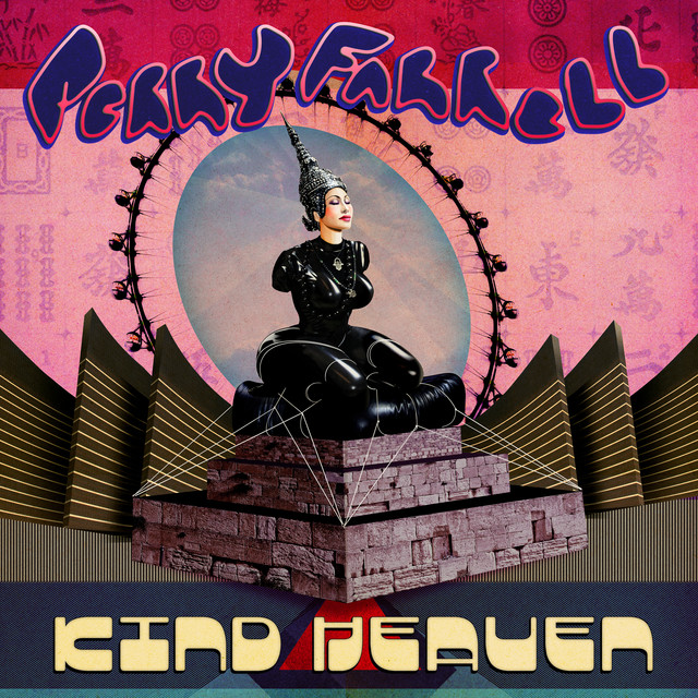 The album cover for Kind Heaven by Perry Farrell