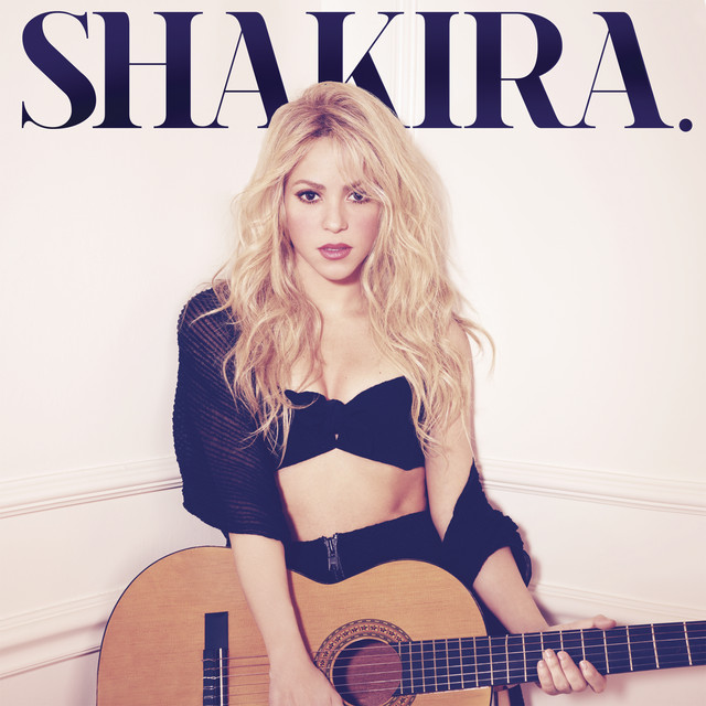 The album cover for Shakira. by Shakira