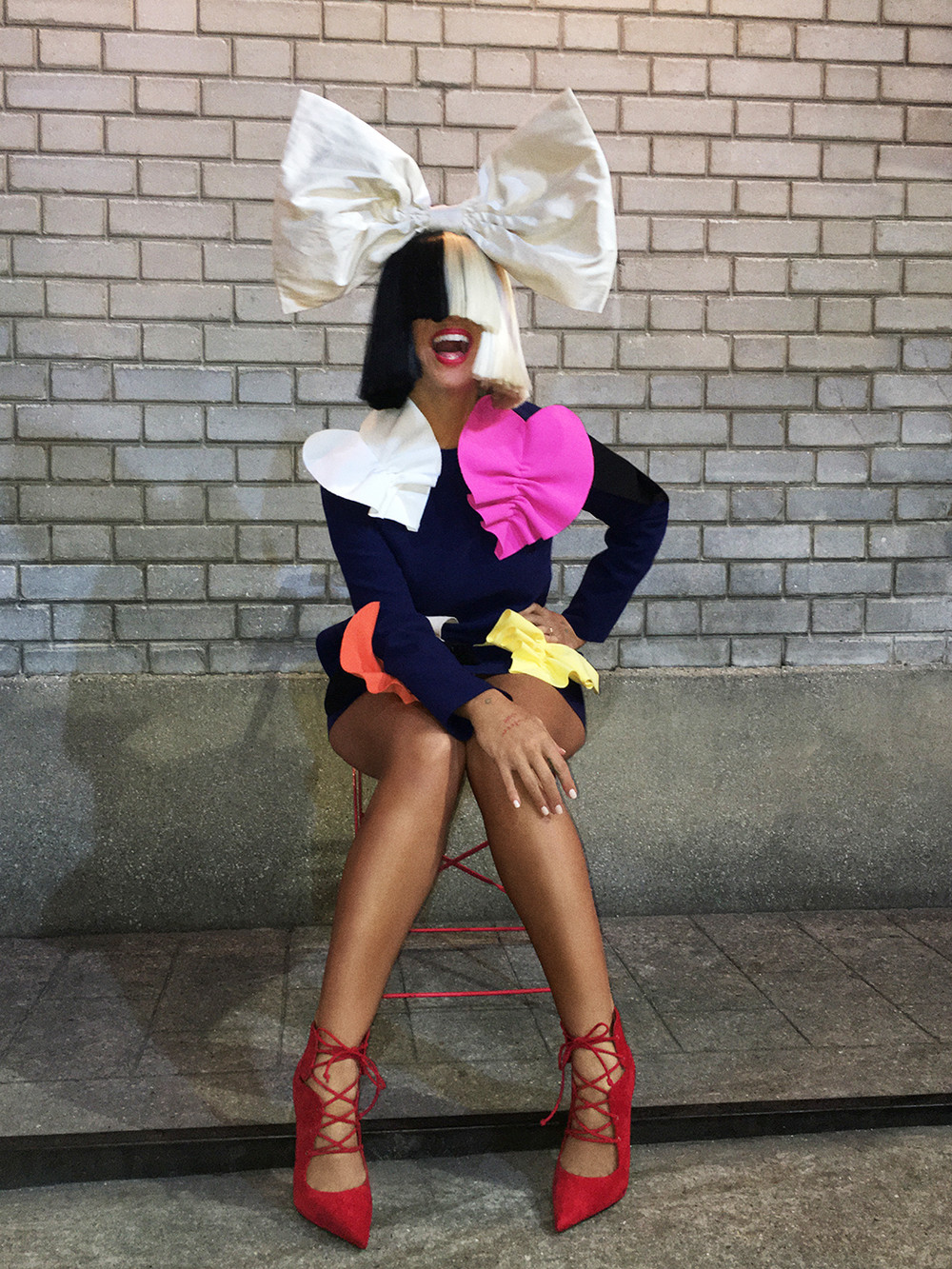A photo of Sia