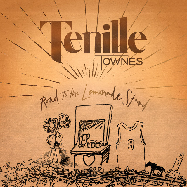 The album cover for Road to the Lemonade Stand - EP by Tenille Townes