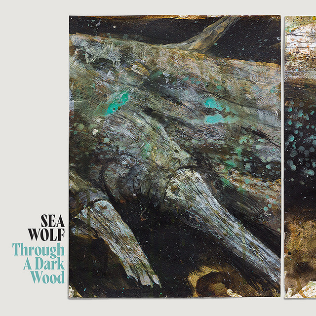 The album cover for Through A Dark Wood by Sea Wolf