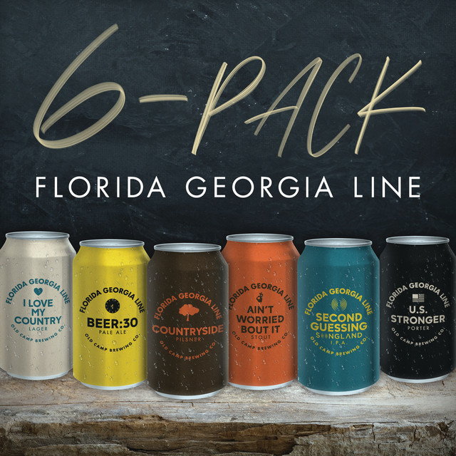 The album cover for 6-Pack by Florida Georgia Line