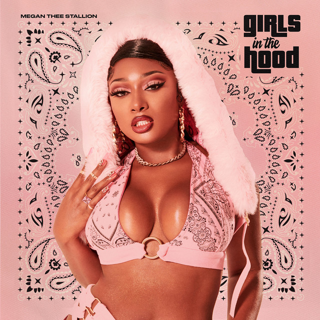 The album cover for Girls in the Hood by Megan Thee Stallion