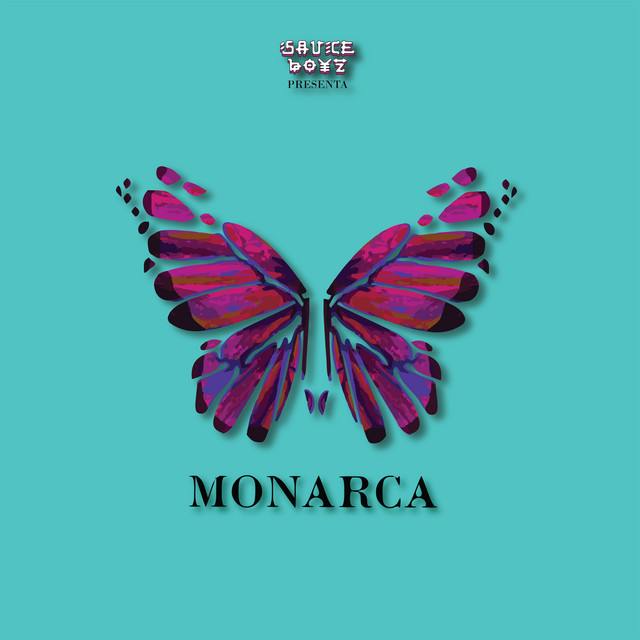 The album cover for Monarca by Eladio Carrion