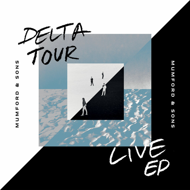 The album cover for Delta Tour EP by Mumford & Sons