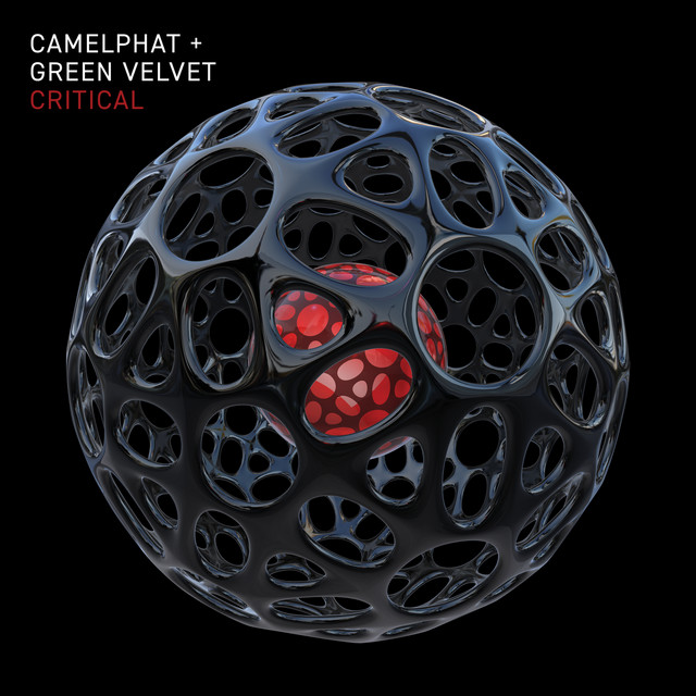 The album cover for Critical by Green Velvet & CamelPhat