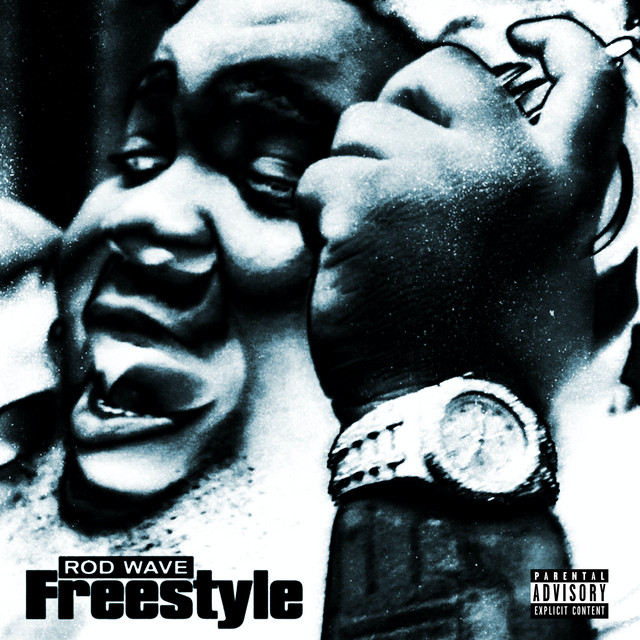 The album cover for Freestyle by Rod Wave