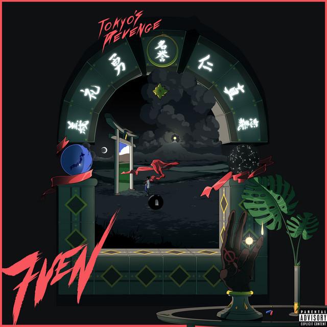 The album cover for 7VEN by TOKYO'S REVENGE