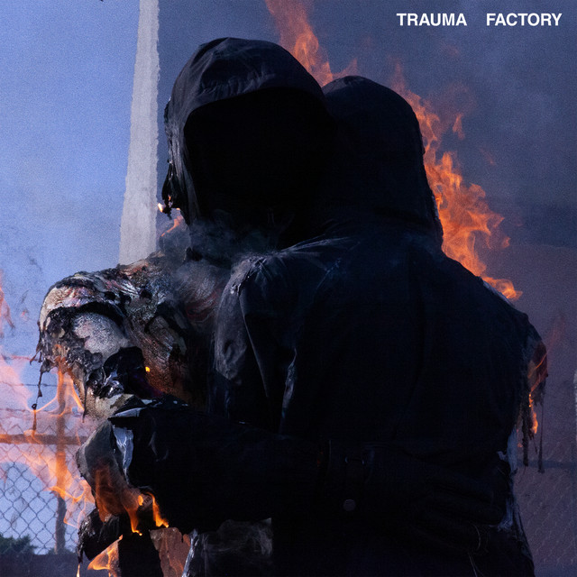The album cover for Trauma Factory by nothing,nowhere.