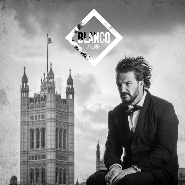 The album cover for Blanco by Ricardo Arjona