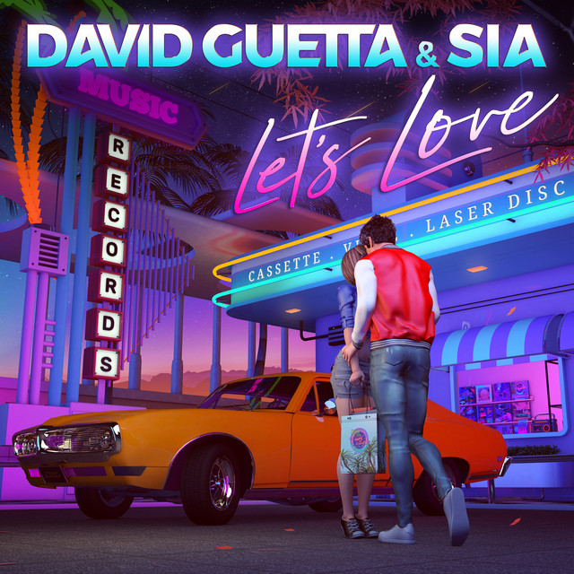 The album cover for Let's Love by Sia & David Guetta