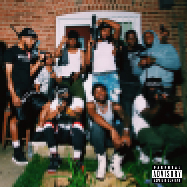 The album cover for IDK & FRIENDS 2 (Basketball County Soundtrack) by IDK