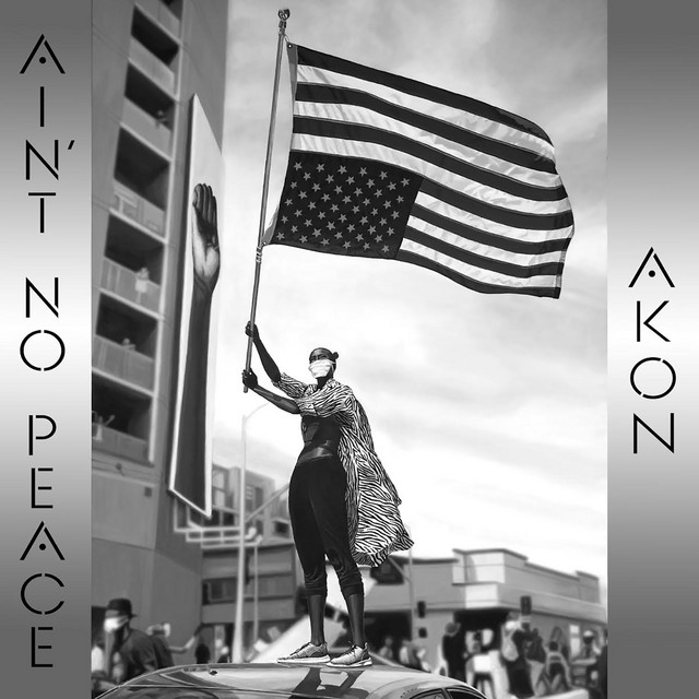 The album cover for Ain't No Peace by Akon
