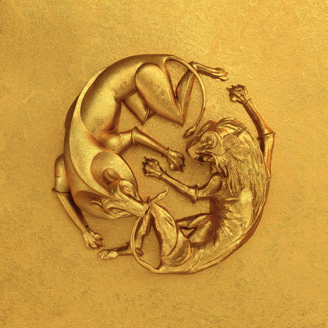 The album cover for The Lion King: The Gift [Deluxe Edition] by Beyoncé