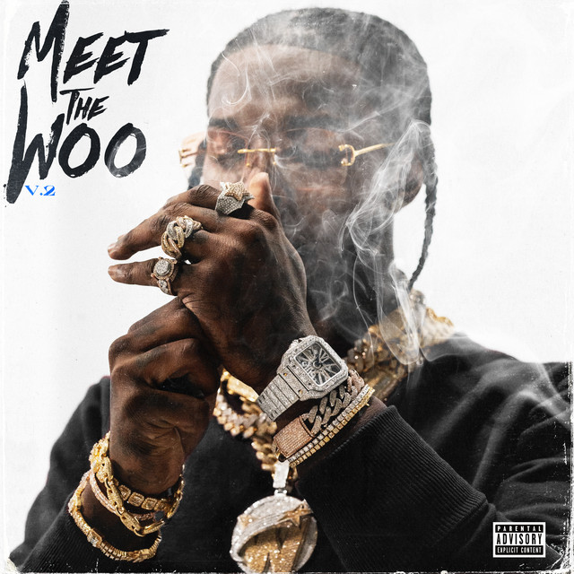 The album cover for Meet The Woo 2 by Pop Smoke
