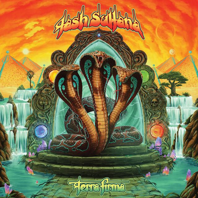 The album cover for Terra Firma by Tash Sultana