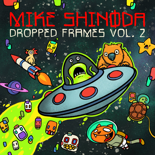 The album cover for Dropped Frames, Vol. 2 by Mike Shinoda