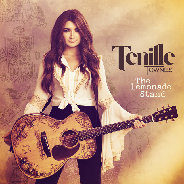 The album cover for The Lemonade Stand by Tenille Townes