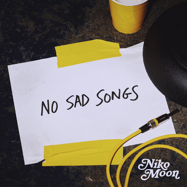 The album cover for NO SAD SONGS by Niko Moon