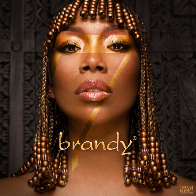 The album cover for B7 by Brandy