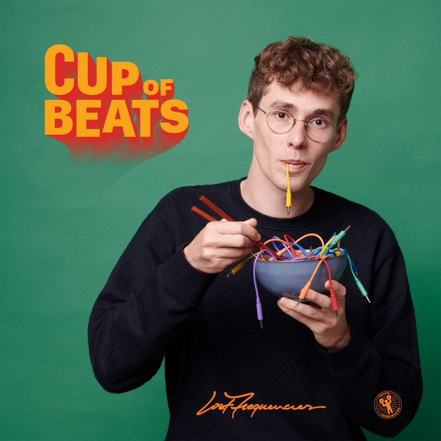 The album cover for Cup Of Beats by Lost Frequencies