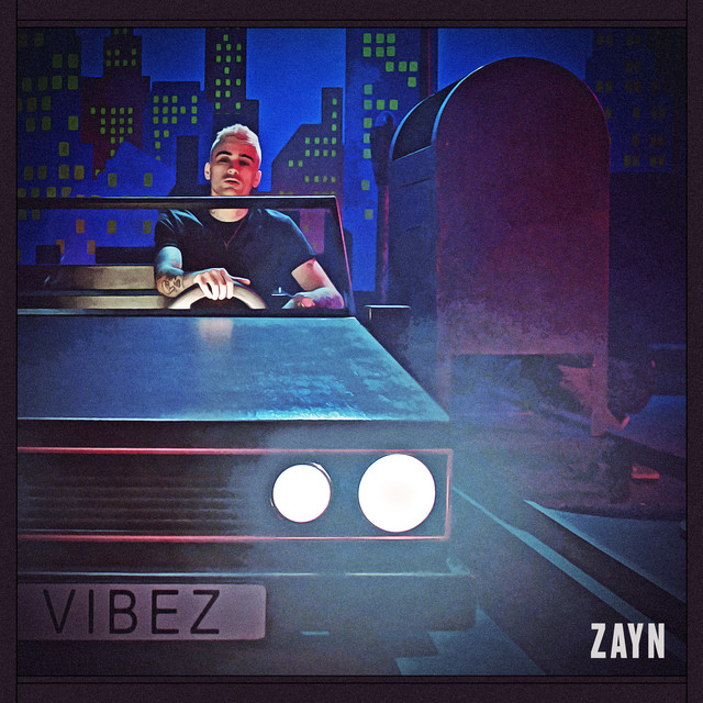 The album cover for Vibez by ZAYN