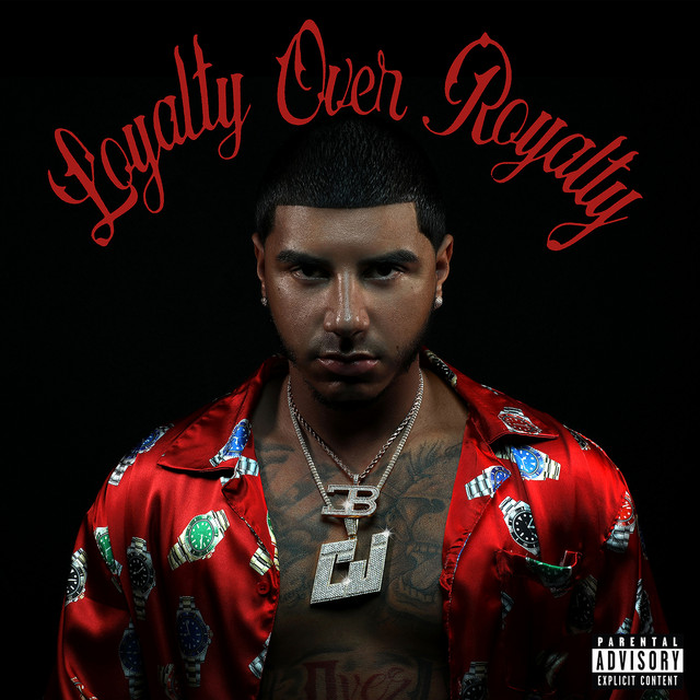 The album cover for Loyalty Over Royalty by CJ