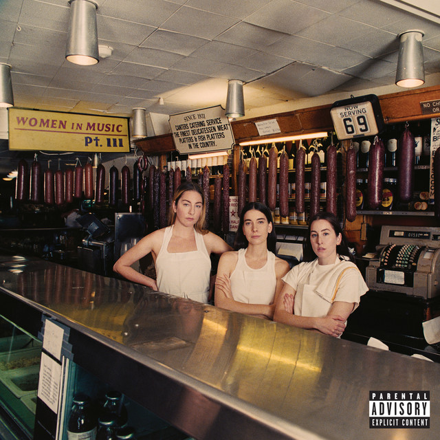 The album cover for Women In Music Pt. III by HAIM