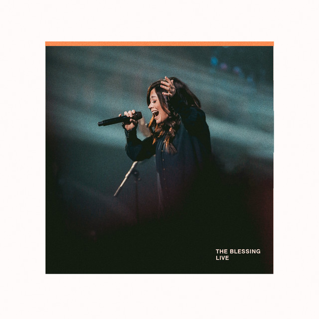 The album cover for The Blessing (Live) by Elevation Worship, Cody Carnes & Kari Jobe