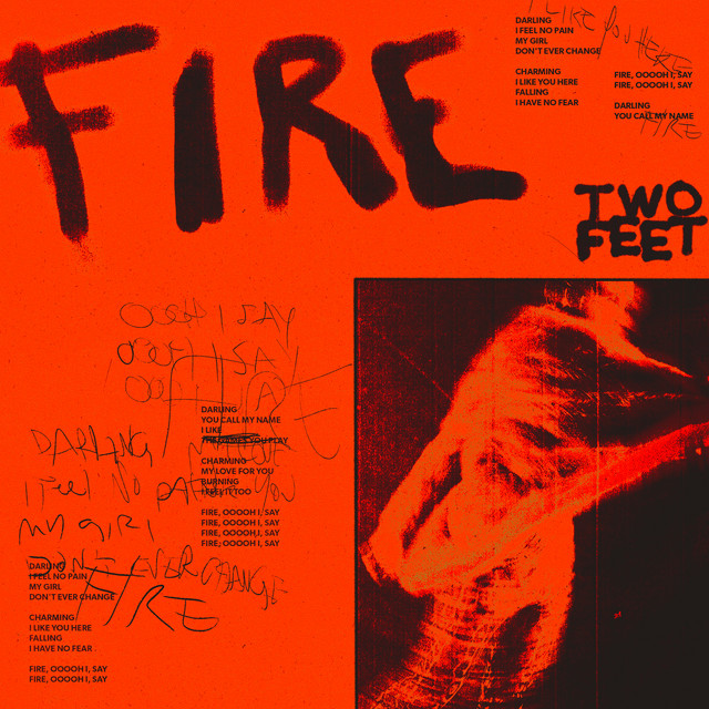The album cover for Fire by Two Feet