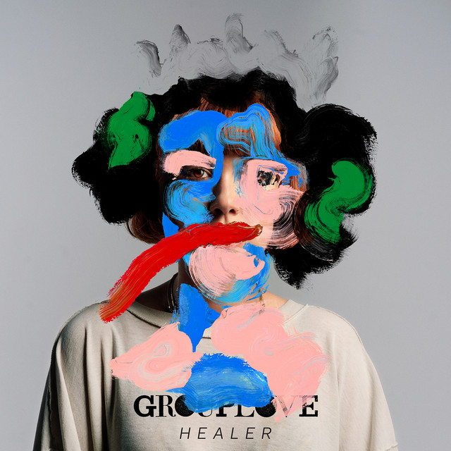 The album cover for Healer by Grouplove