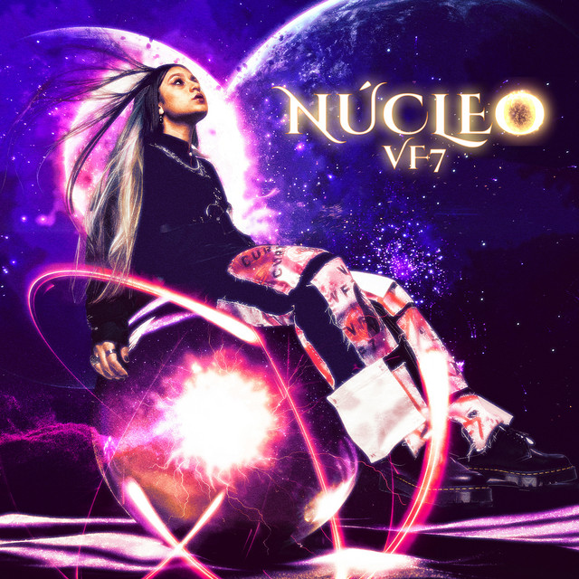 The album cover for Núcleo by vf7