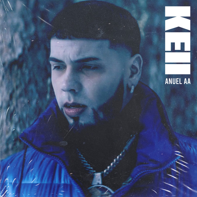 The album cover for Keii by Anuel Aa