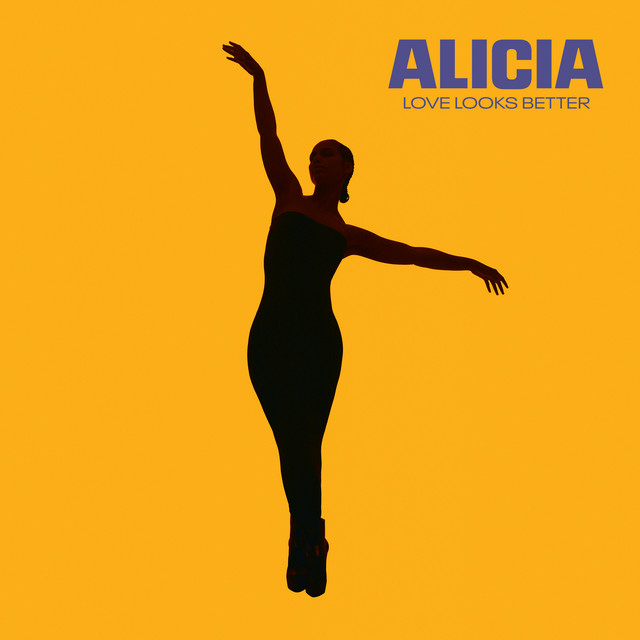 The album cover for Love Looks Better by Alicia Keys