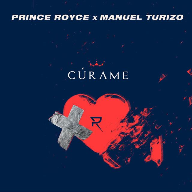 The album cover for Cúrame by Manuel Turizo & Prince Royce