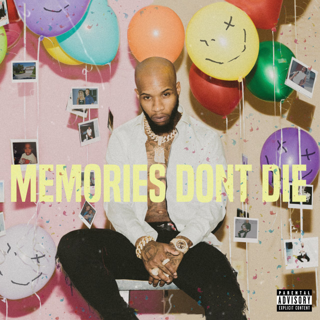 The album cover for MEMORIES DON'T DIE by Tory Lanez